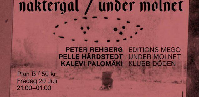 Näktergal / Under Molnet: Peter Rehberg